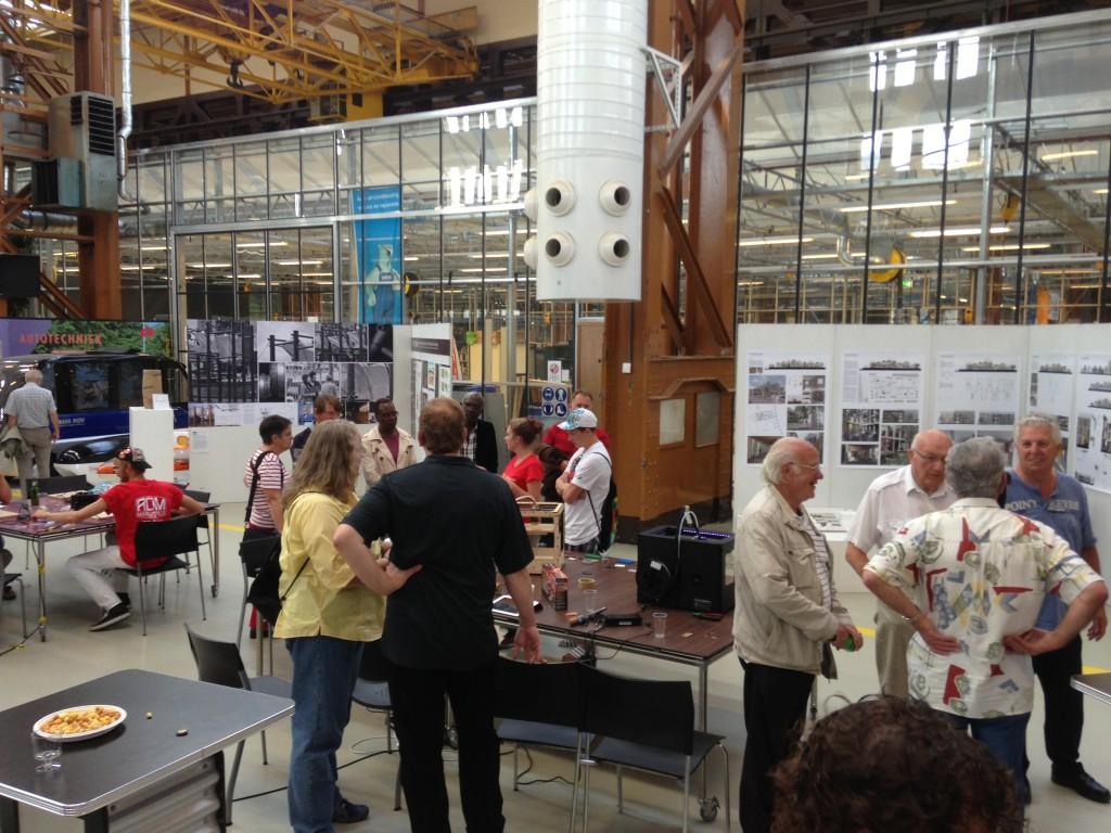 Oud RDM bezoekt RDM Makerspace