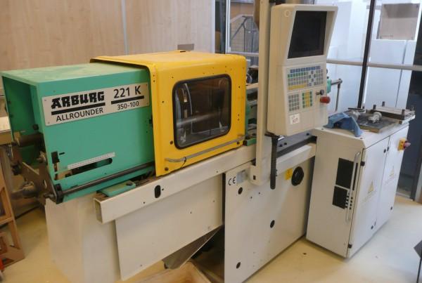 Spuitgietmachine Arburg Allrounder 221K 350-100 (1)