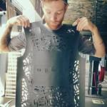 Martijn lasersnijdt zijn ontwerpen