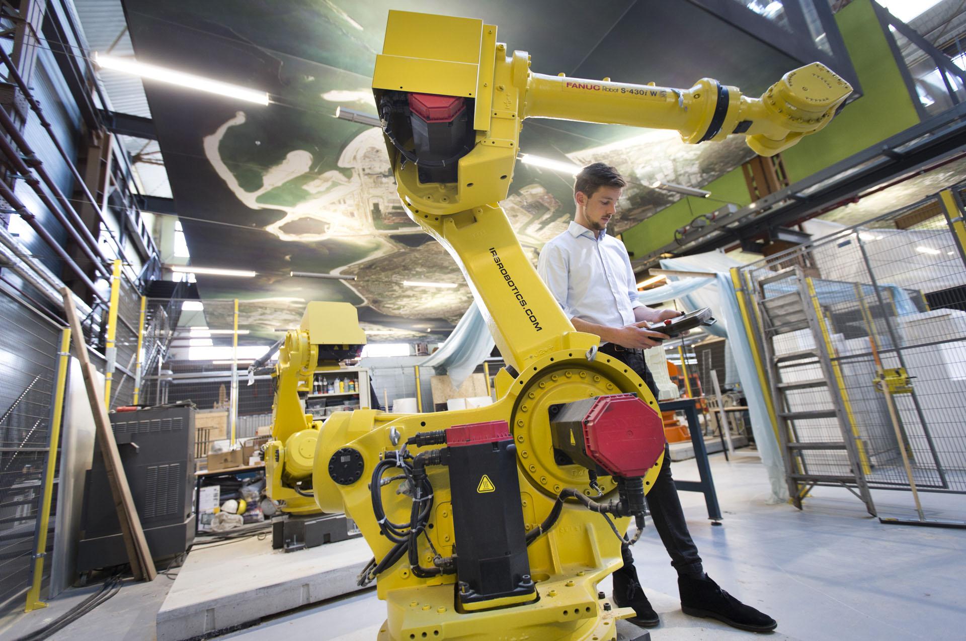 niels robot armen rdm makerspace
